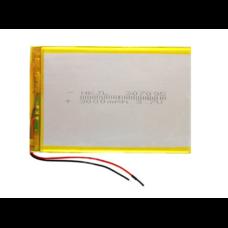 Аккумулятор 3.7 вольт 3000  mAh 2 провода