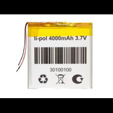 Аккумулятор 3.7 вольт 4000 mAh 2 провода