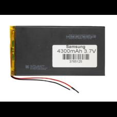 Аккумулятор 3.7 вольт 4300 mAh 2 провода